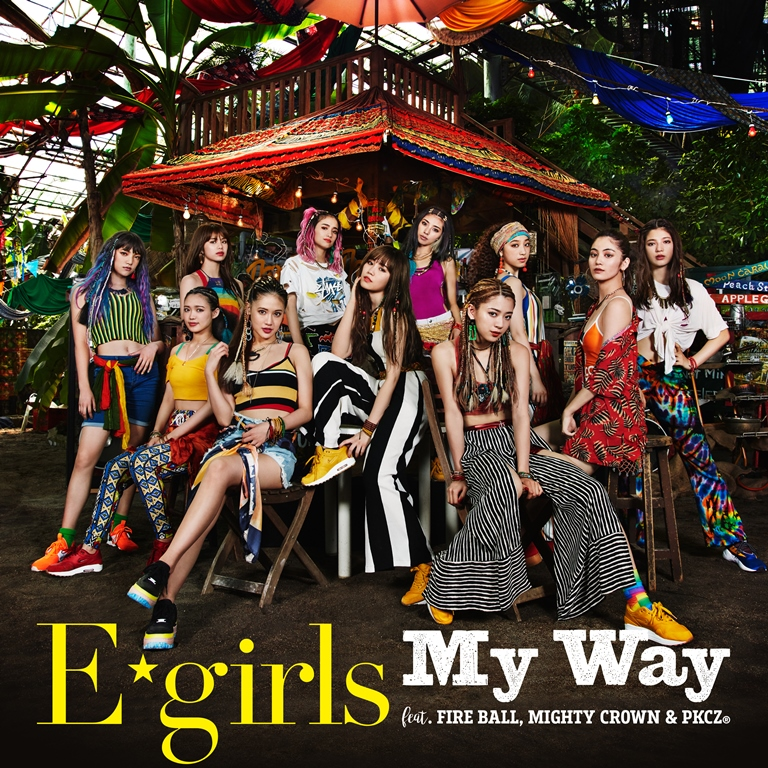 E-girls_My-Way-feat-fire-ball-mighty-crown-and-pkcz