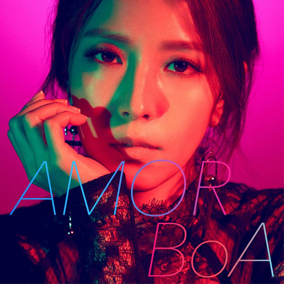 BoA digital single AMOR cover