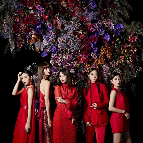 Flower diital single Kurenai no Dress cover