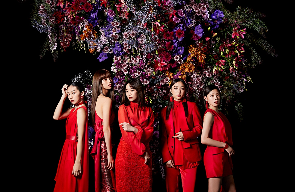 Flower studio album F promotional picture