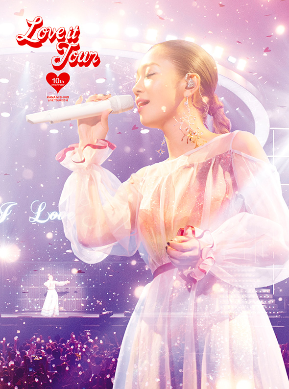 Kana Nishino LIVE DVD & Blu Ray LOVE it Tour 10th Anniversary DVD edition
