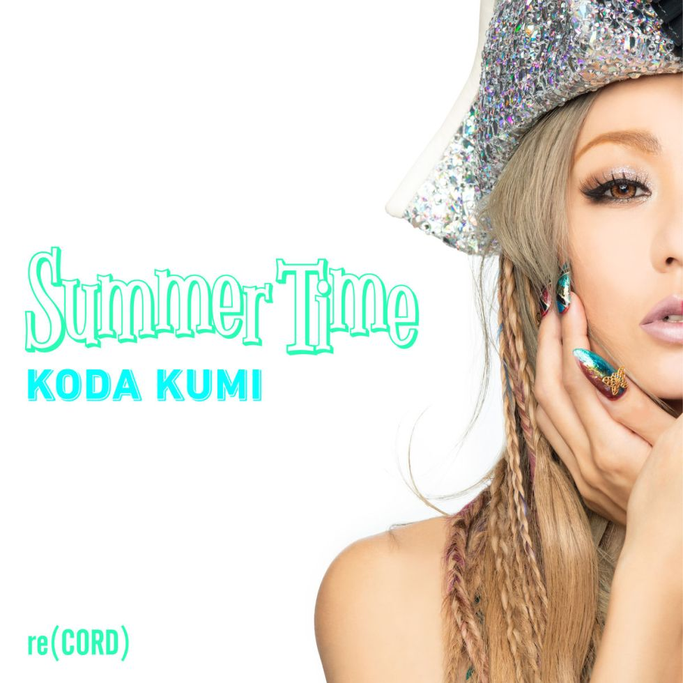 Koda Kumi digital single Summer Time cover